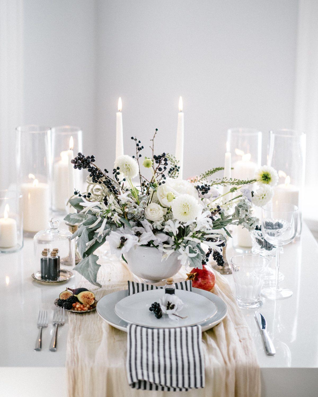 effortlessly elegant halloween party | modern dame